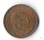 monedas de Europa - España -  02A - FRANCISCO FRANCO CAUDILLO DE ESPAÑA POR LA GRACIA DE DIOS 1953