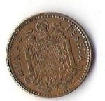 monedas de Europa - España -  02B - FRANCISCO FRANCO CAUDILLO DE ESPAÑA POR LA GRACIA DE DIOS 1953