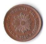 monedas de America - Uruguay -  06A - REPUBLICA ORIENTAL URUGUAY 1946