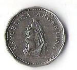 monedas de America - Argentina -  02A - REPUBLICA ARGENTINA 1964
