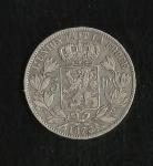 monedas de Europa - Bélgica -  Leopoldo II / (reverso)