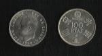 monedas de Europa - España -  Juan Carlos I / Mundial 82