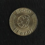 monedas de Europa - Italia -  Euros en prueba / Region de Liguria./ Pontasseve.