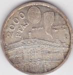 monedas de Europa - España -  Madrid-Asamblea FMI-BM
