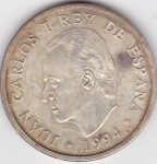 monedas de Europa - España -  Madrid-Asamblea FMI-BM JUAN CARLOS I