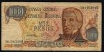monedas de America - Argentina -  General San Martín