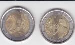 monedas de Europa - España -  EURO-  QUIJOTE