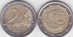 monedas de Europa - Bélgica -  PINTURA RUPESTRE CON EMBLEMA €