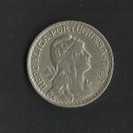 monedas de Europa - Portugal -  1 Escudo