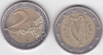monedas de Europa - Irlanda -  ARPA CELTA