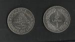monedas de Asia - Líbano -  Banco del Libano