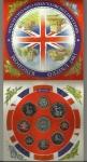 monedas de Europa - Reino Unido -  Cartera 1997 / Reverso