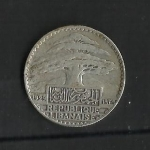 monedas de Asia - Líbano -  50 piastras / Anverso