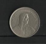 monedas de Europa - Suiza -  Confederacion Helvetica / Anverso