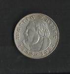 monedas de Europa - Alemania -  Martin Luther / anverso