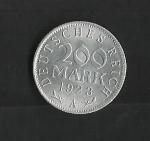 monedas de Europa - Alemania -  Republica de Weimar / reverso