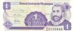 monedas de America - Nicaragua -  BILLETE DE NICARAGUA- Francisco Hernández de Córdoba
