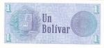monedas de America - Venezuela -  BILLETE DE VENEZUELA- BOLÍVAR