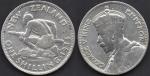 monedas de Oceania - Nueva Zelanda -  George V