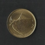 monedas de Europa - Eslovenia -  Golondrina./ anverso.