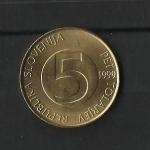 monedas de Europa - Eslovenia -  Cabra / reverso.