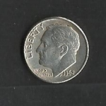 monedas de America - Estados Unidos -  Roosevelt.