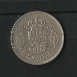 monedas de Europa - Dinamarca -  Margarita II / reverso.