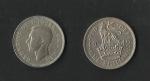 monedas de Europa - Reino Unido -  jorge VI