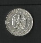 monedas de Europa - Alemania -  Hindenburg / Third Reich / reverso.