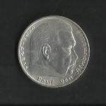 monedas de Europa - Alemania -  Hindenburg / Third Reich / anverso.