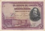 monedas de Europa - España -  II REPÚBLICA - Velazquez