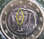 monedas de Europa - Grecia -  1€ Grecia 2002 en Blister