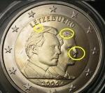 monedas de Europa - Luxemburgo -  Luxemburgo 2006- 2€ Conmemorativo-Error