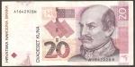 monedas de Europa - Croacia -  Conde Josip Jelacic