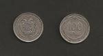 monedas de Asia - Armenia -  Escudo de Armenia: Aguila y León
