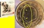 monedas de Europa - Bélgica -  Belgica 2004. Cartera Cruz Roja