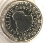 monedas de Europa - Eslovenia -  Eslovenia error 1€ s/c