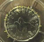 monedas de Europa - Eslovenia -  Variante Rayos de sol