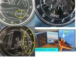 monedas de Europa - Finlandia -  Aland 2005 con errores