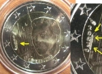 monedas de Europa - Luxemburgo -  Luxemburgo 2€ conmemorativa 2007 s/c