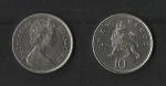 monedas de Europa - Reino Unido -  Elizabeth II