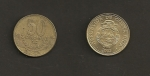 monedas de America - Costa Rica -  50 colones