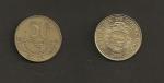 monedas de America - Costa Rica -  50 colones