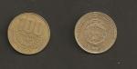 monedas de America - Costa Rica -  100 colones