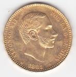 monedas de Europa - España -  ALFONSO XII