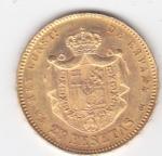 monedas de Europa - España -  ALFONSO XII reverso