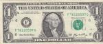 monedas de America - Estados Unidos -  BILLETE DE USA.  DOLAR- G.WASHINGTON