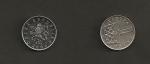 monedas de Europa - República Checa -  1 corona checa
