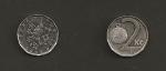 monedas de Europa - República Checa -  2 coronas checas