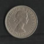 monedas de Europa - Reino Unido -  Elizabeth II / Anverso